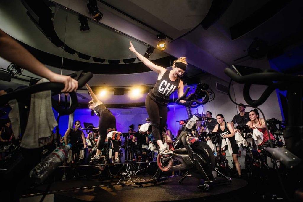 100 peloton rides studio three