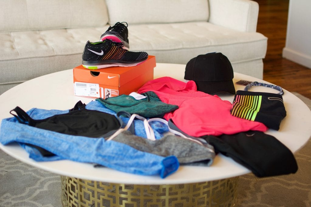 Trunk Club fitness trunk haul