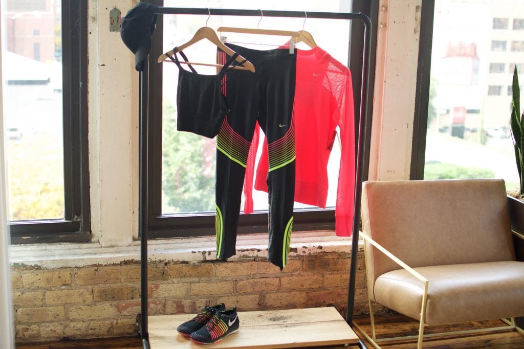 Fitness outfit from Trunk Club fitness trunk