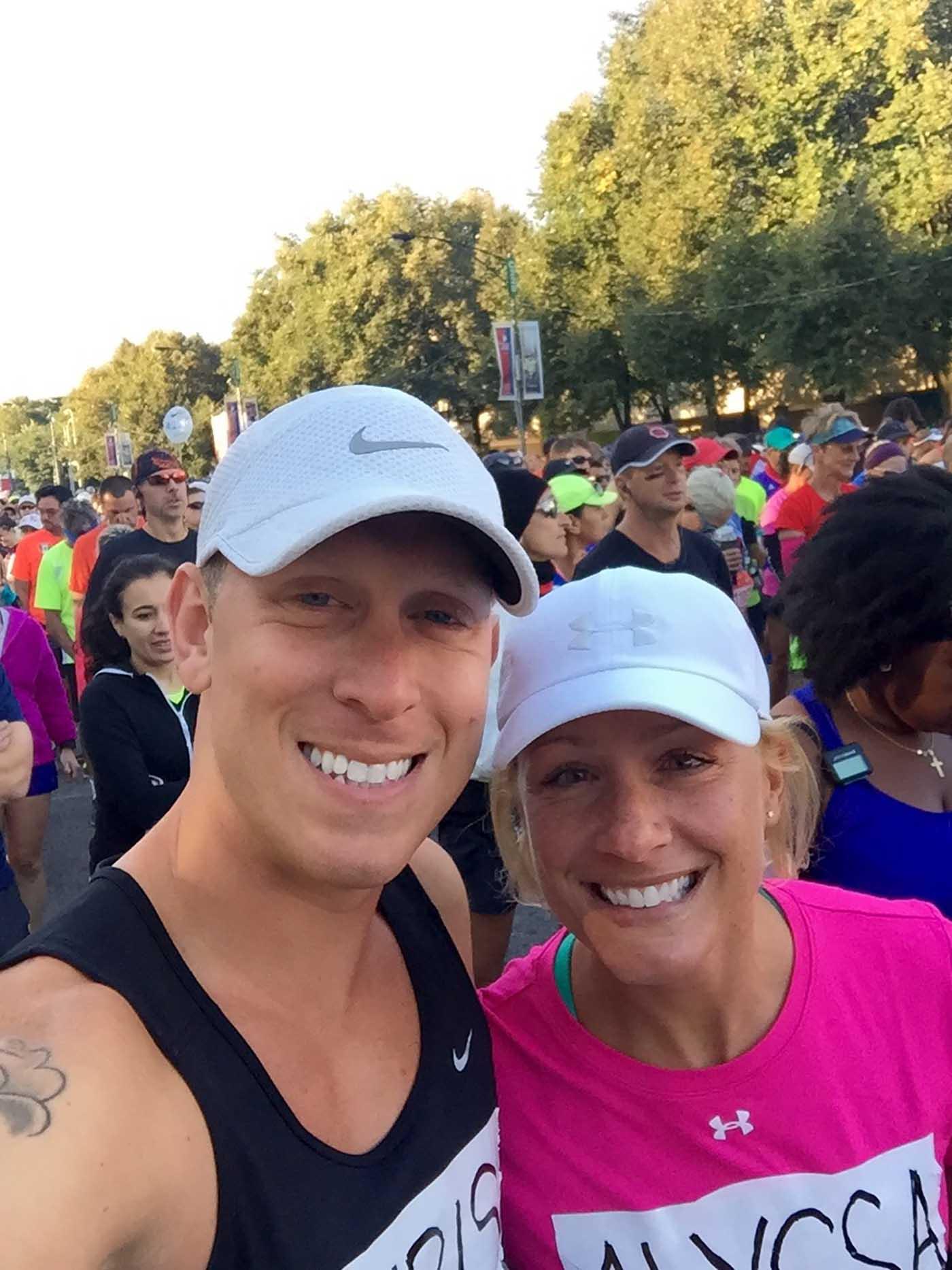 asweatlife_couple-celebrates-2015-chicago-marathon-engagement-at-2016_2016-photo