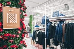 Nordstrom X Nike pop up shop