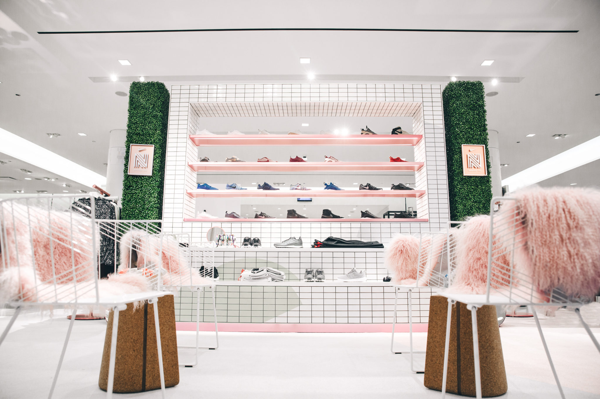 Nordstrom x Nike Sneaker Boutique Opens This Weekend