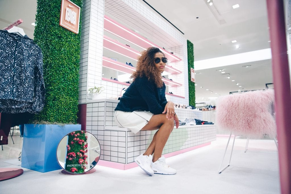 Skylar Diggins Nordstrom x Nike shop Chicago