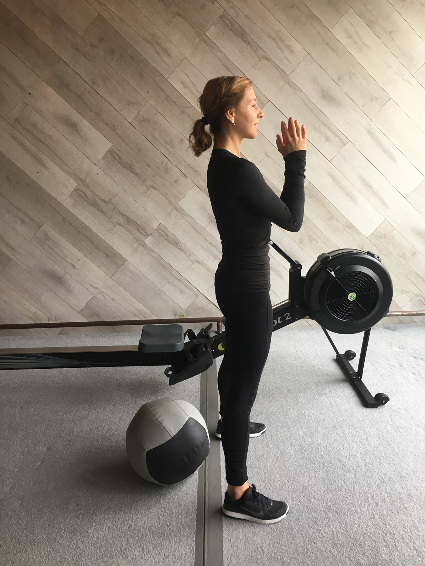 Get in the Zone With This Rowing and Med Ball EMOM Workout - A Sweat