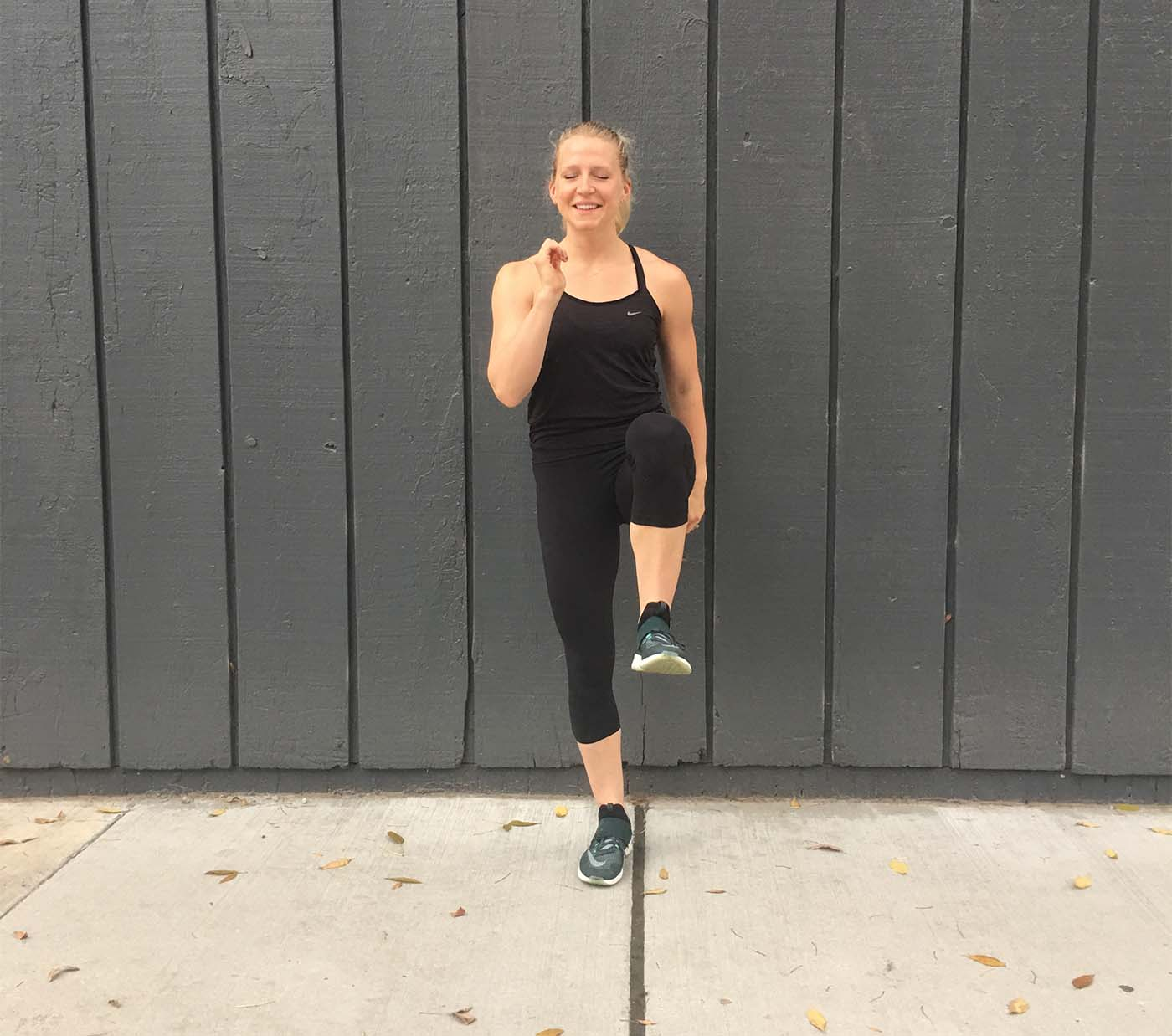 asweatlife_a-30-minute-workout-to-do-on-the-road-or-wherever-you-are_high-knees_2