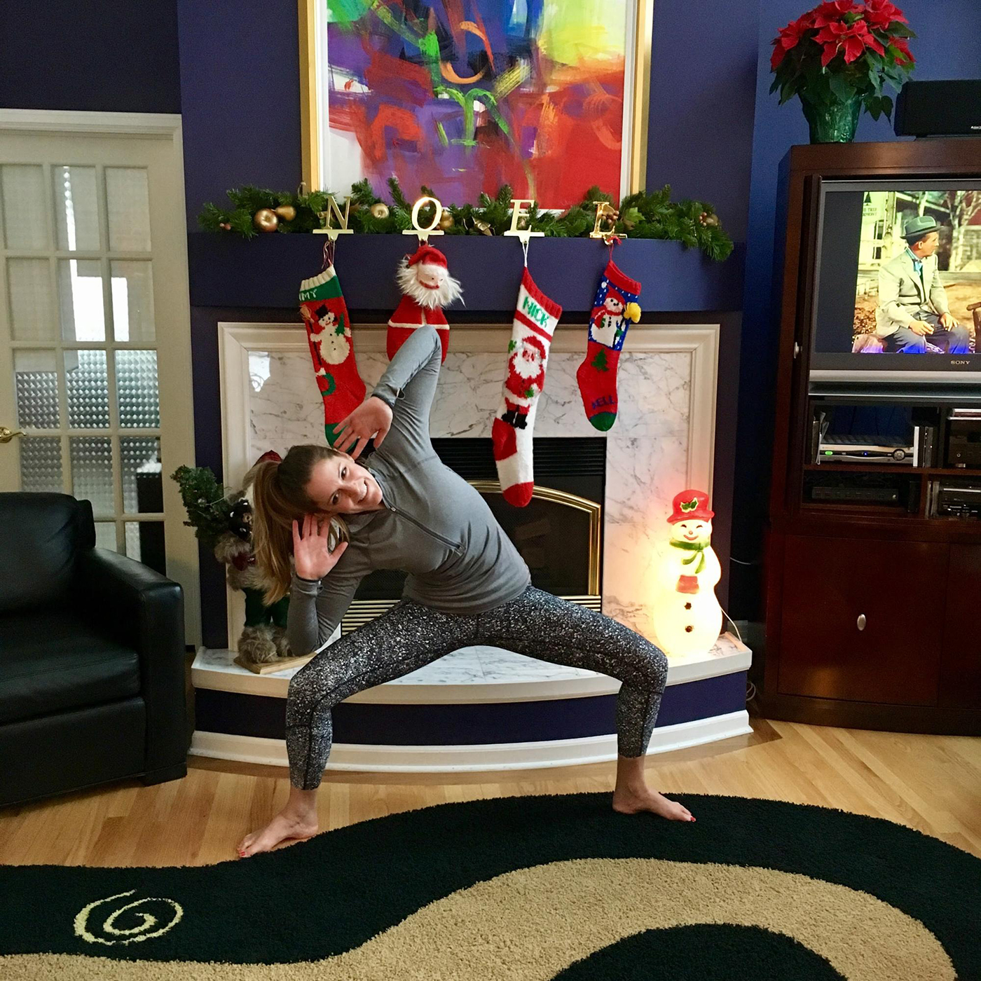 A Yoga Sculpt Inspired 30 Minute Workout Sweat Life Holiday Jump And Jack Cardio Circuit Asweatlife Yogasculpt Goddess23 Obliquedrop Burst Jumping Jacks