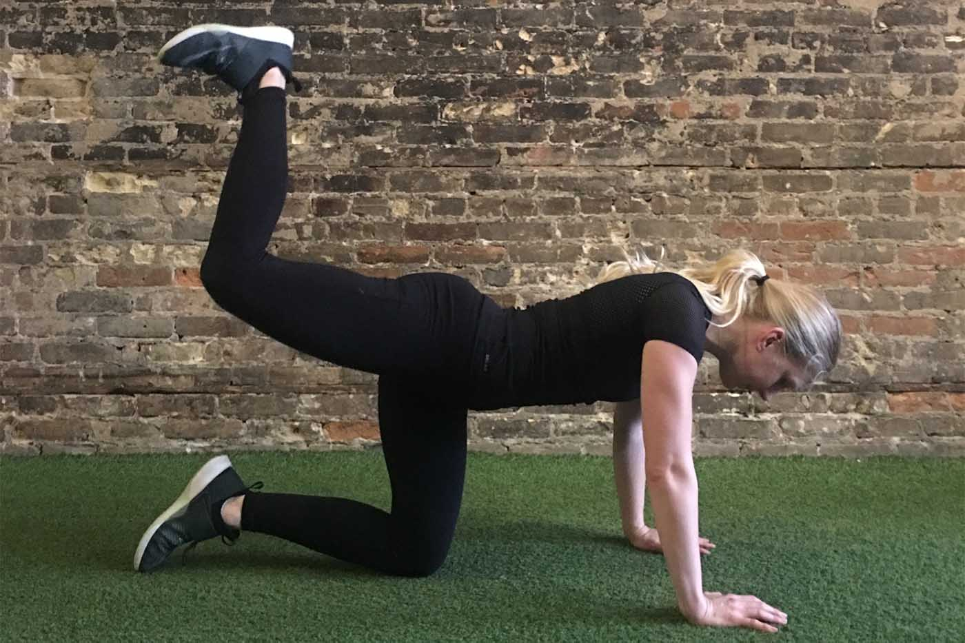 asweatlife_30-minute-workout-with-your-bodyweight-and-a-treadmill_donkey-kicks_1