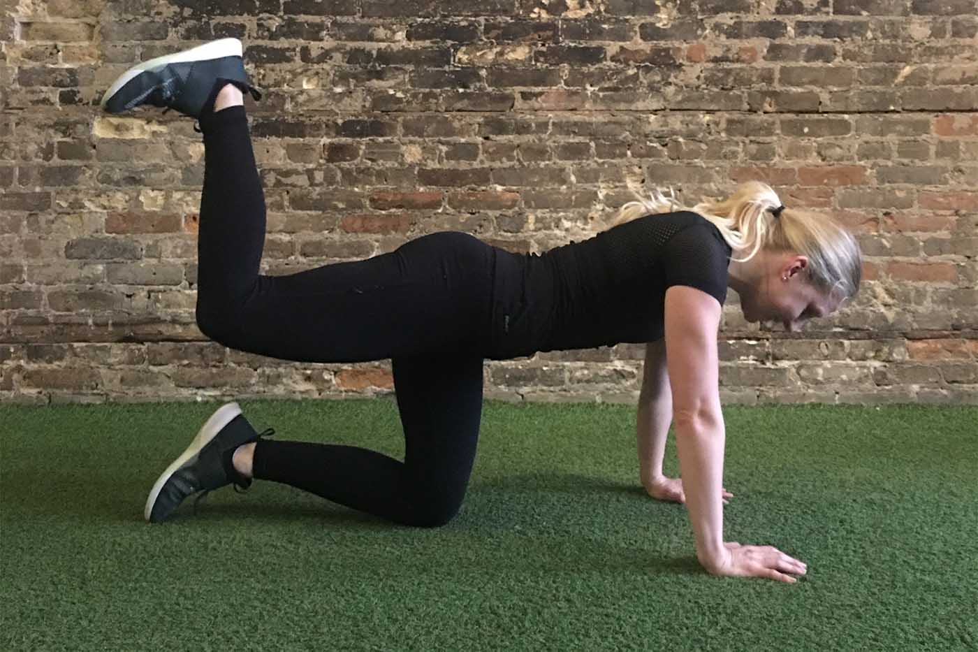 asweatlife_30-minute-workout-with-your-bodyweight-and-a-treadmill_donkey-kicks_2