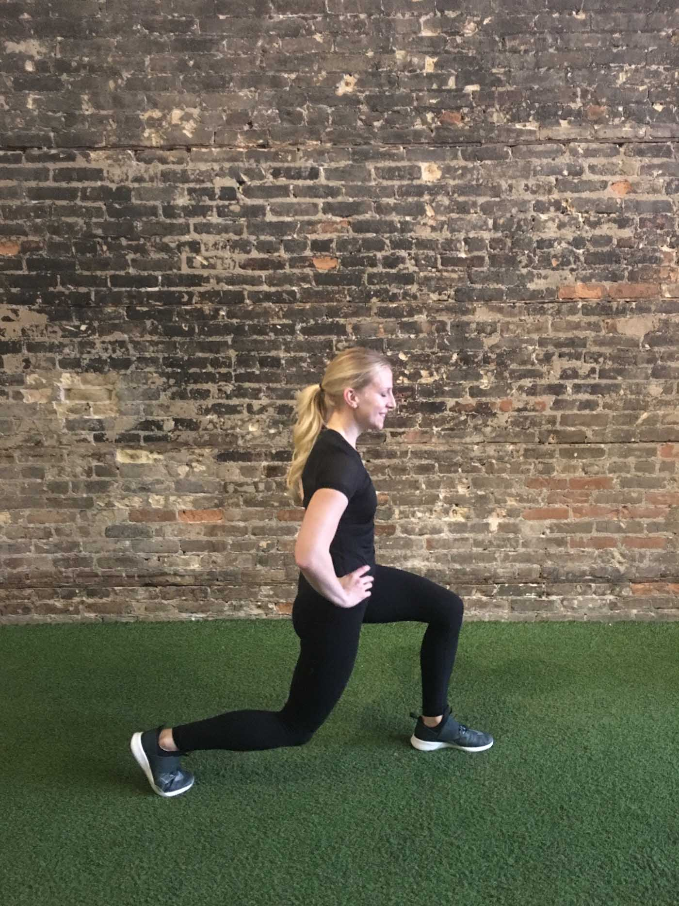asweatlife_30-minute-workout-with-your-bodyweight-and-a-treadmill_lunge-jump_2