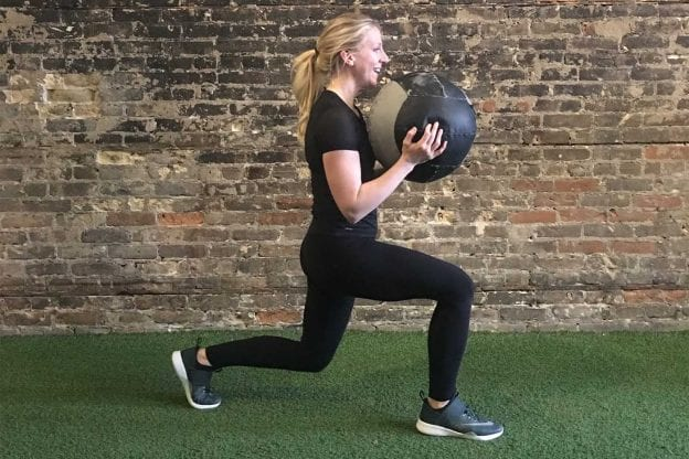 asweatlife_a-30-minute-med-ball-workout_lunge-jumps_2