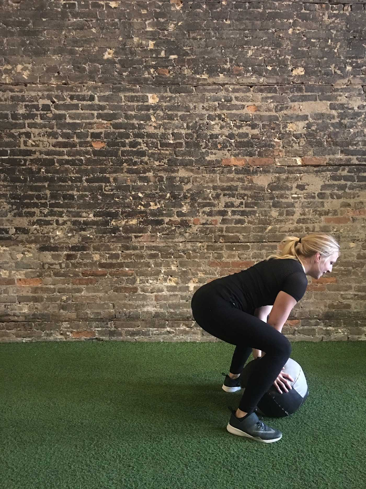 asweatlife_a-30-minute-med-ball-workout_burpee_1
