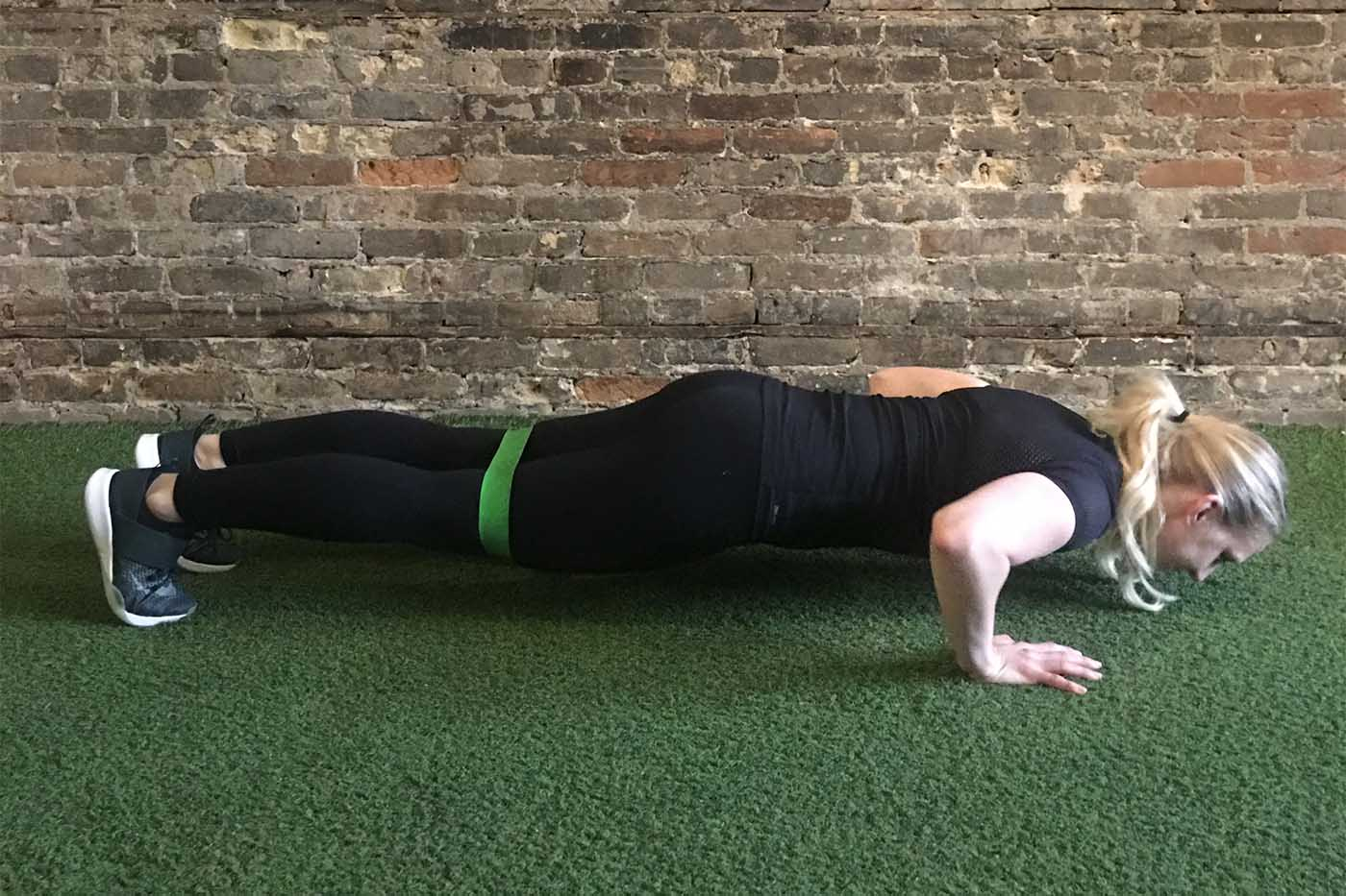 asweatlife_your-30-minute-workout-with-a-band_russian-twists_banded-push-ups