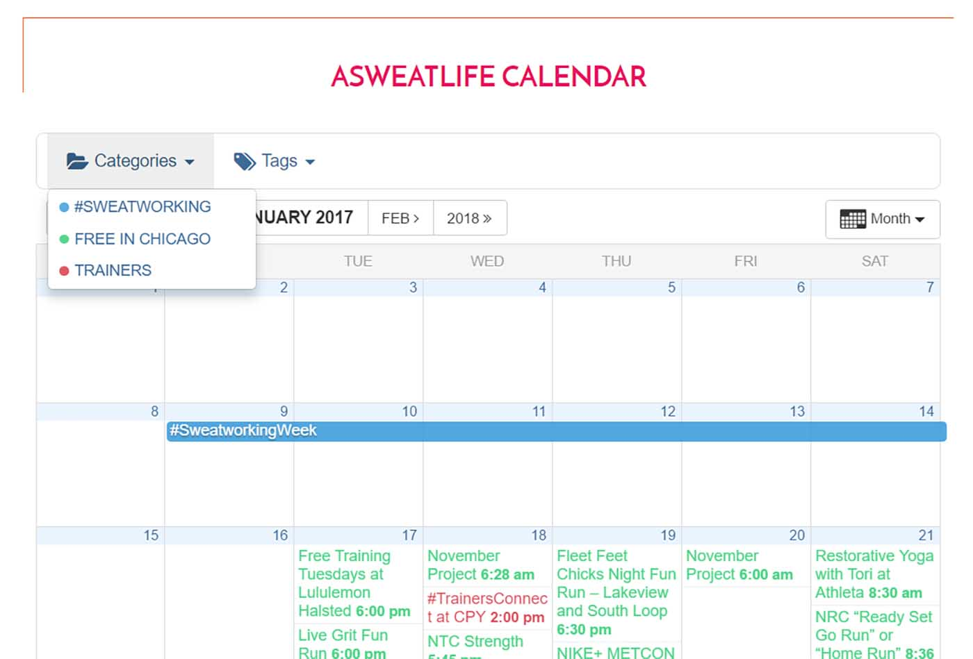 asweatlife_Your New Workout Go-To- Introducing the aSweatLife Calendar_2