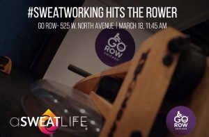 #Sweatworking at Go Row @ Go Row