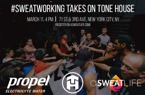 NYC: #Sweatworking at Tone House @ Tone House Upper East Side (NYC)