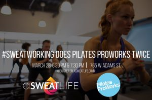 #Sweatworking at Pilates Proworks @ Pilates ProWorks