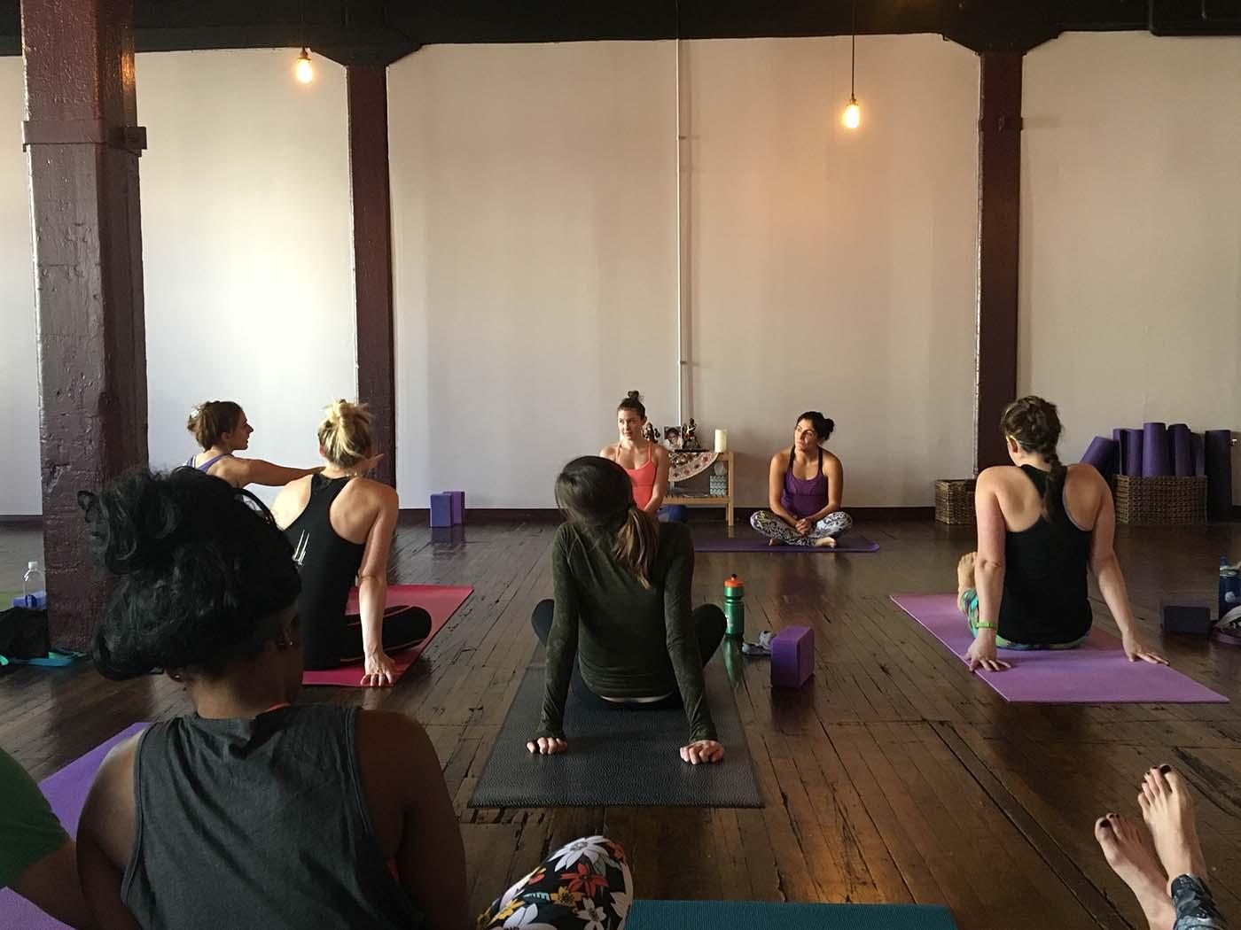 yoga and improv
