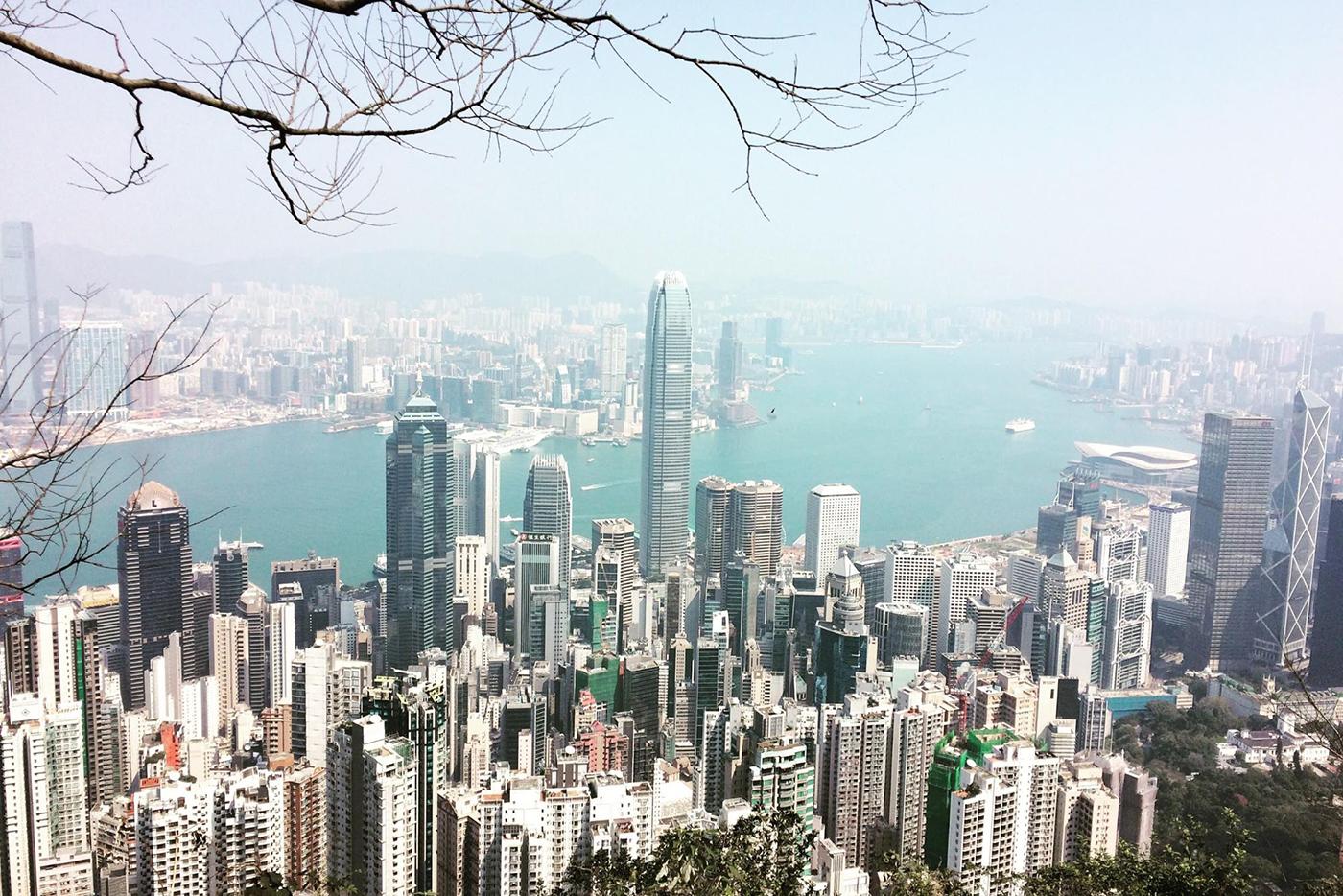 hiking Hong Kon