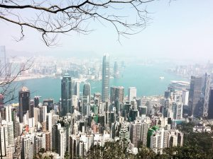 hiking Hong Kong