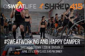 #SWEATWORKING Sunday Fun Day at Shred415 Old Town @ Shred415 Old Town