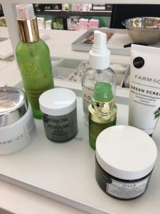Superfood skincare products for soothing skin