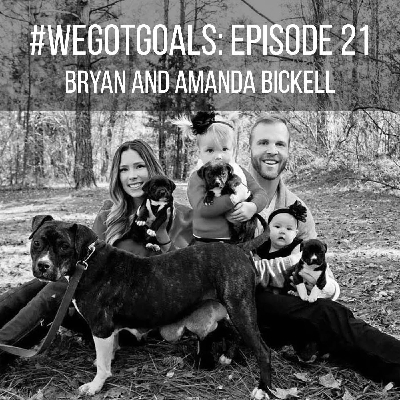 Bryan and Amanda Bickell