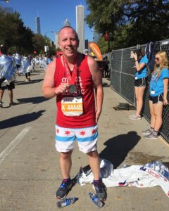 Matt Lindner Chicago Marathon