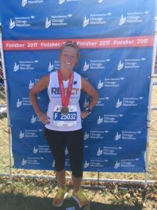 Kim Caplea Chicago Marathon