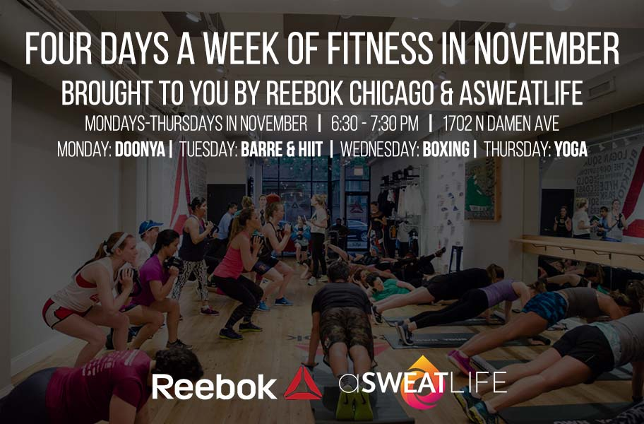 Fitness Four Days A Week In November