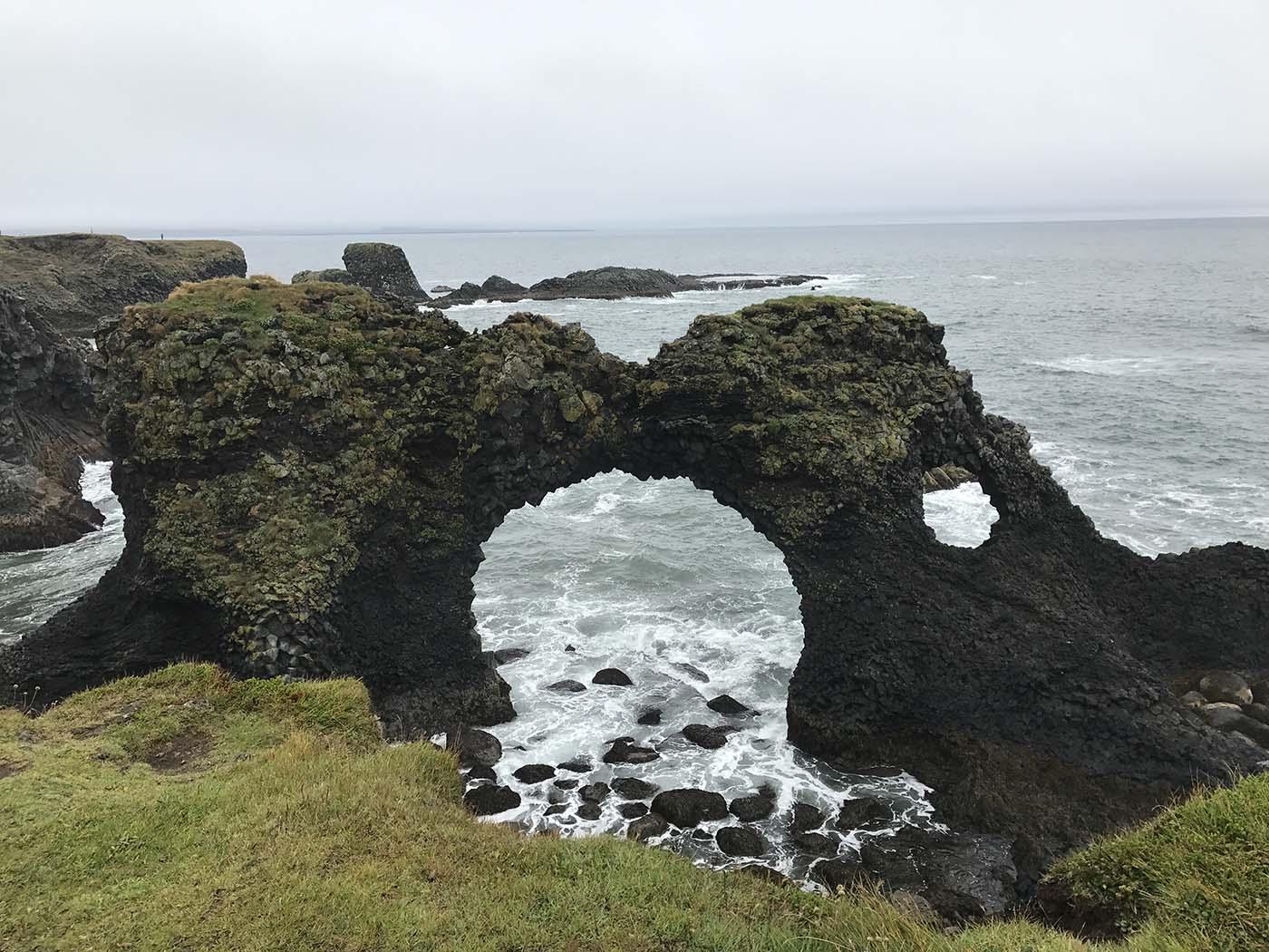 Arnarstapi Iceland archway