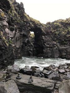 Iceland Arnarstapi Cairns