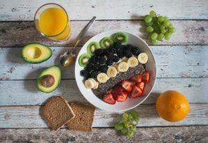 avocados chia seeds toast breakfast