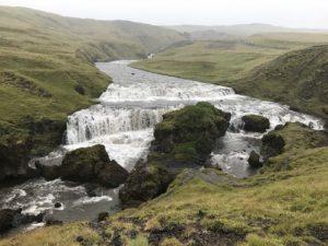 Skógafoss Iceland Hike waterfall