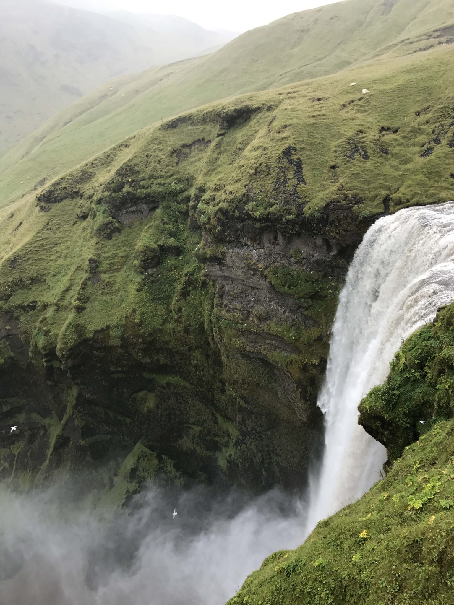 Skógafoss Iceland Hike waterfall