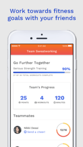 sweatworking app teams