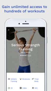 sweatworking app workout