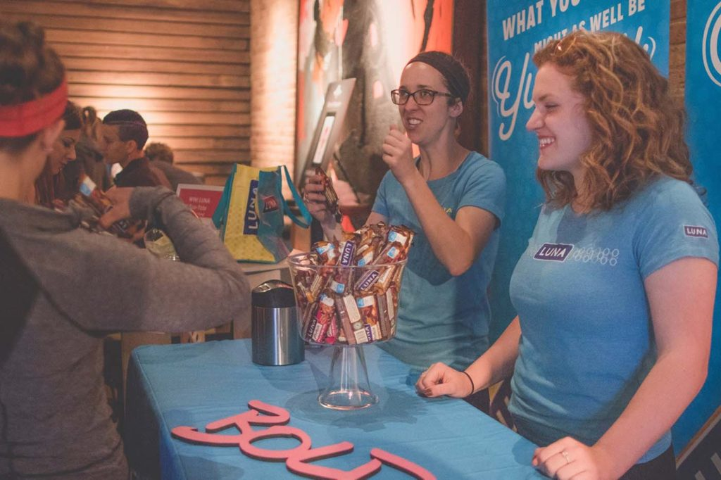 sweatworkingweek fitness festival nutrition bar