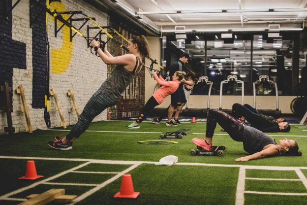 new to group fitness