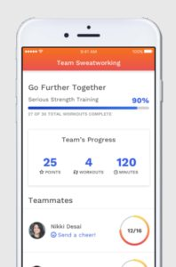 The SweatWorking App is Now Available in the App Store - A