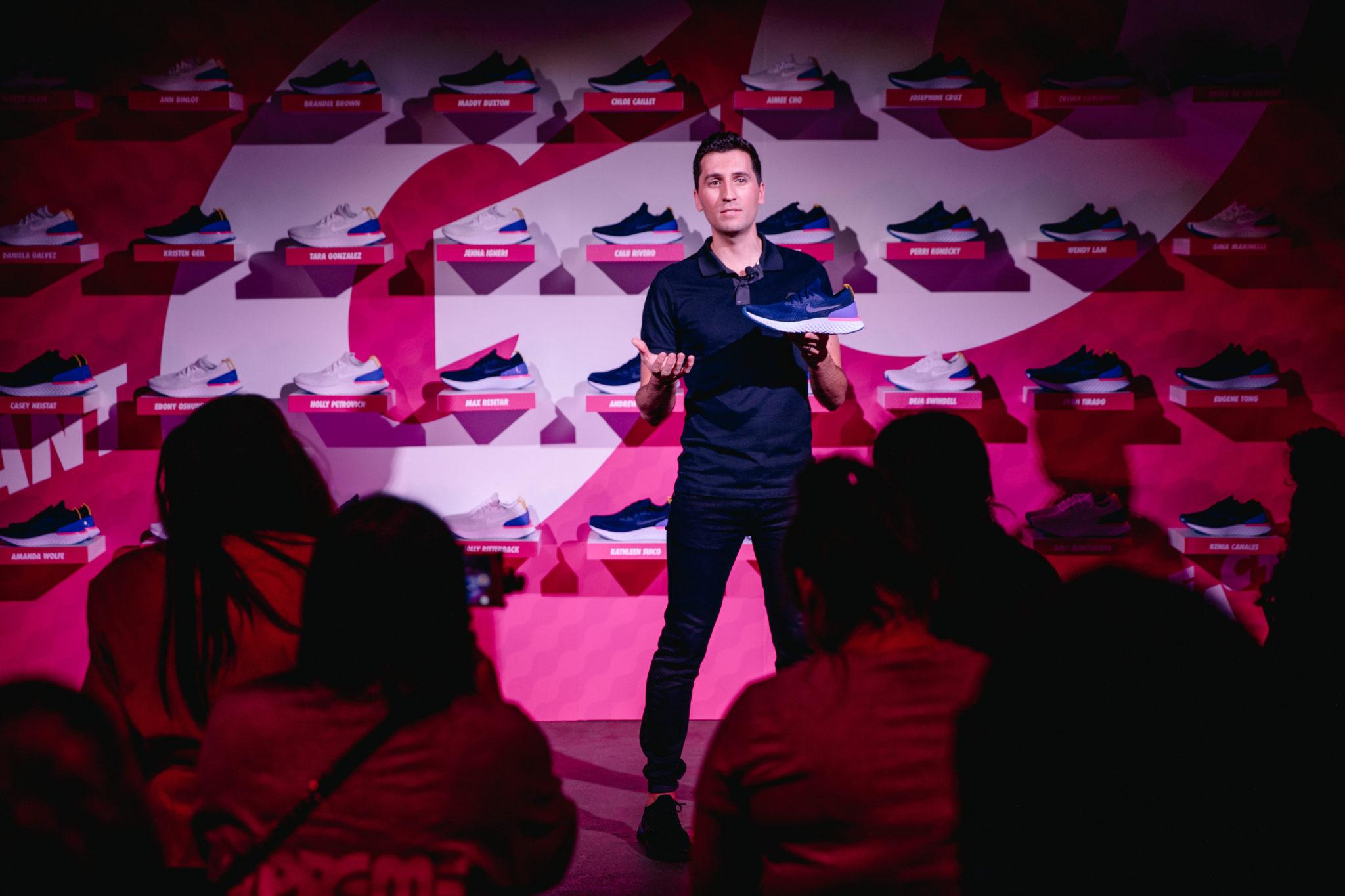 Nike Epic React Flyknit, Brett Holts