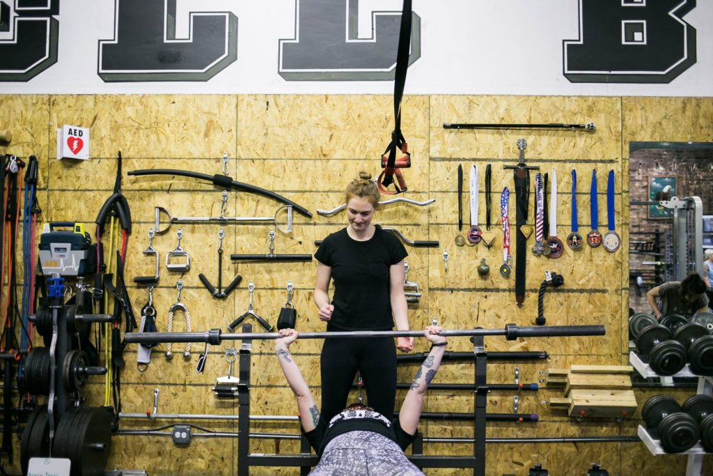 Ladies Who Lift workshop