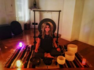 Sound healing with Alison Ross