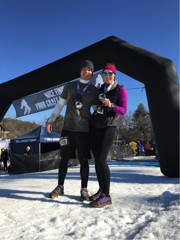 Abominable Snow Race at Lake Geneva