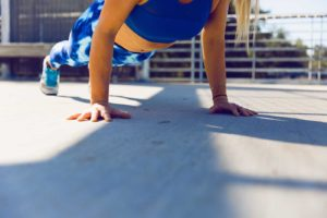 at-home workout routine