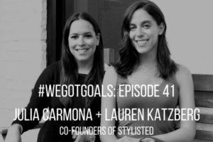 Co-founders of Stylisted, Julia Carmona and Lauren Katzberk