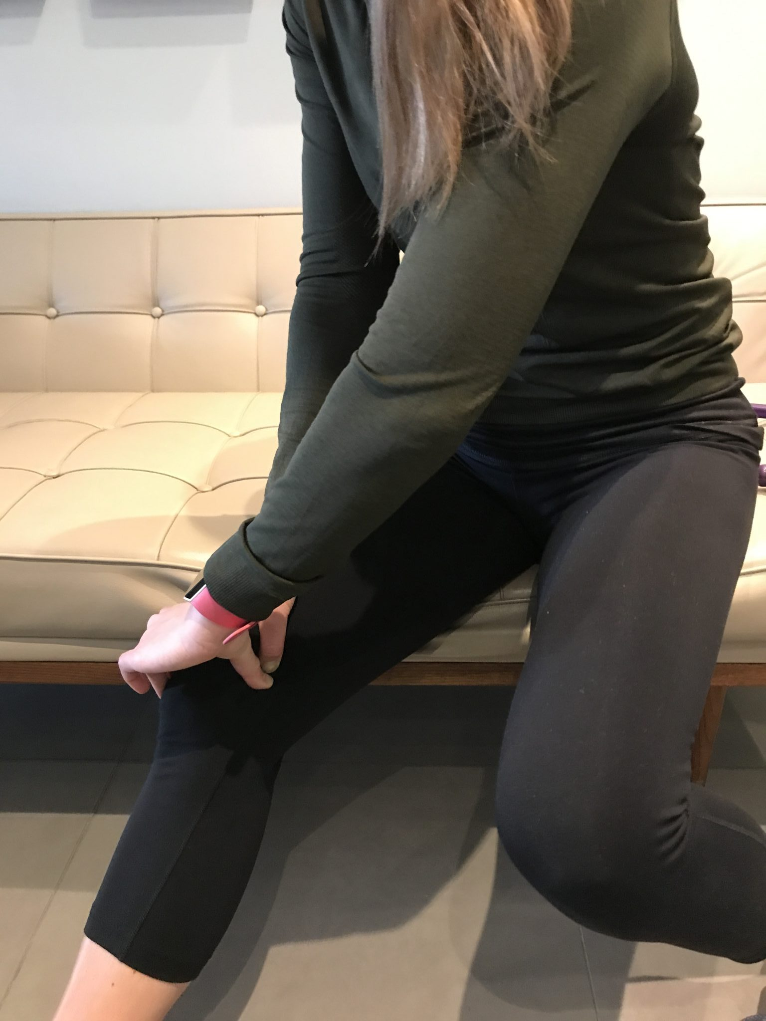 Delos therapy for knee pain around your vastus medialis