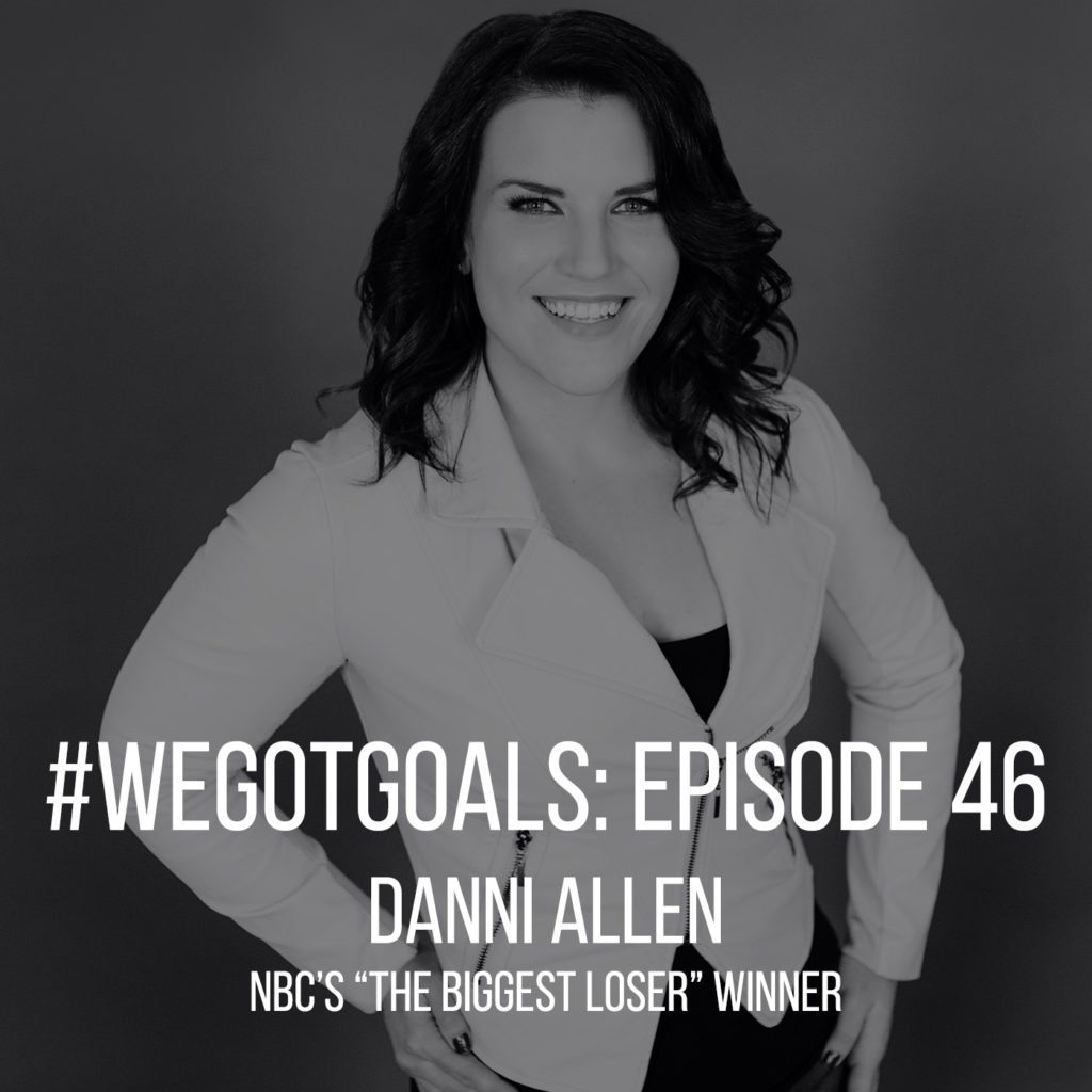 Danni Allen, winner of The Biggest Loser