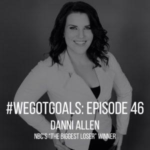 Danni Allen, winner of The Biggest Loser