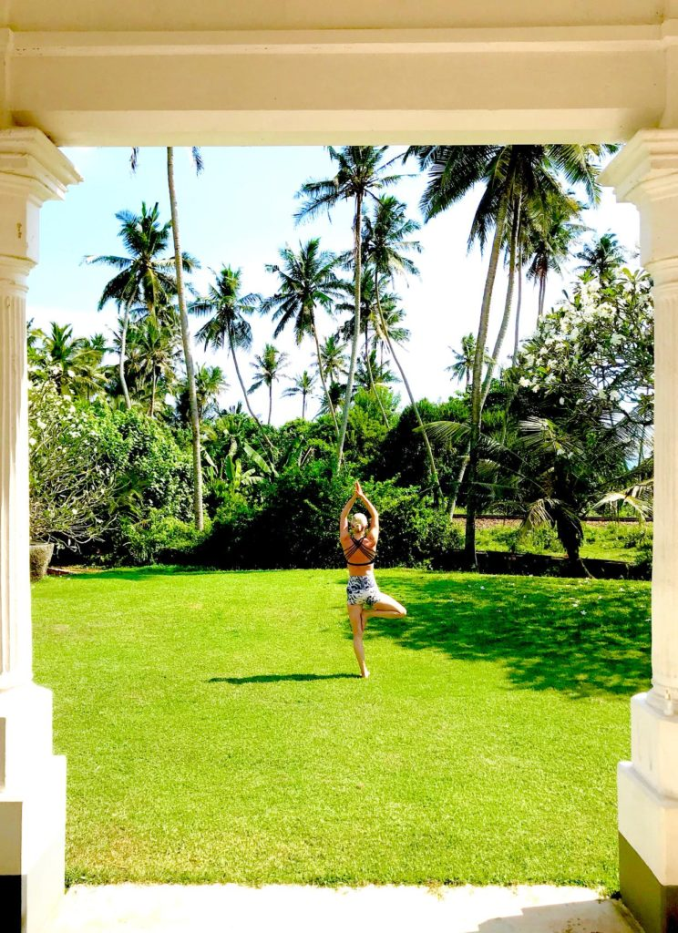 yoga retreat in Sri Lanka