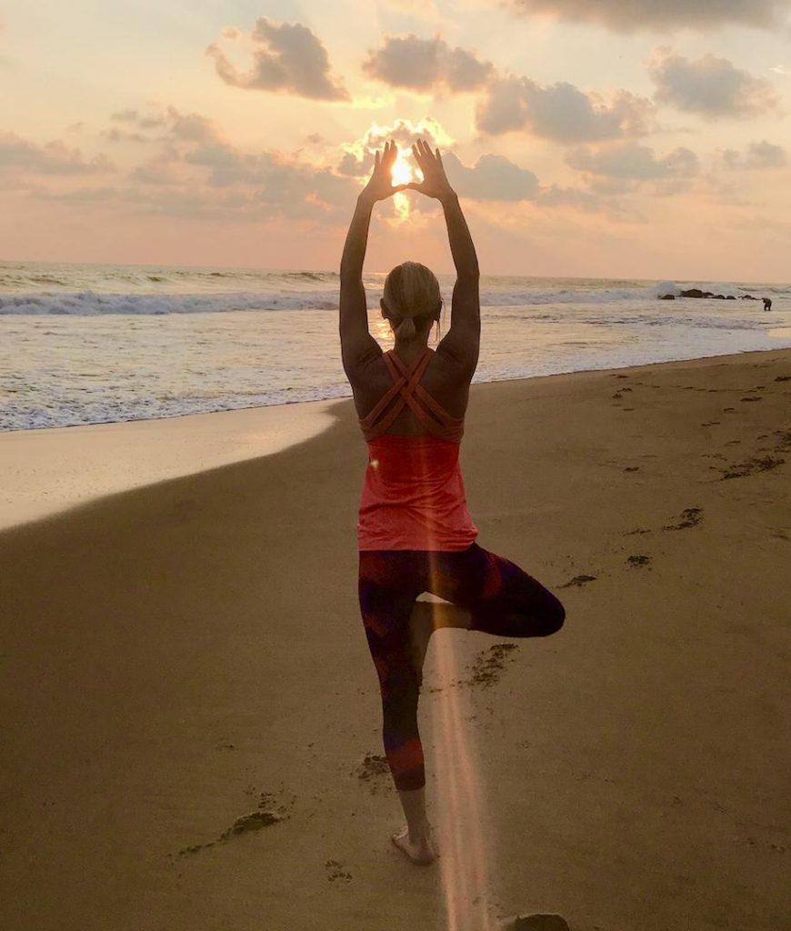 yoga retreat in Sri Lanka
